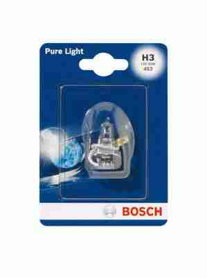 Лампа автомоб. Н3 12V 55W галоген Pure Light BOSCH (1шт)